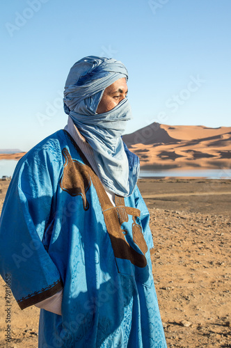 Fotobehang Marokko Tuareg, Morocco
