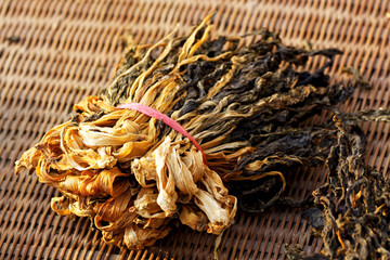 Chinese dried white cabbage