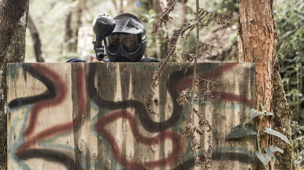 paintball observación