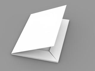 Folder 3D rendering