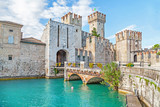 Scaliger Castle in Sirmione, Italy