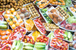 Leinwanddruck Bild - fruits and vegetables