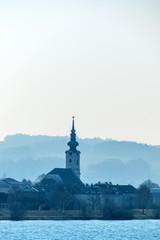 Österreich, Niederösterreich, Dorfkirche