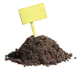 Pile of soil, profitable proposition