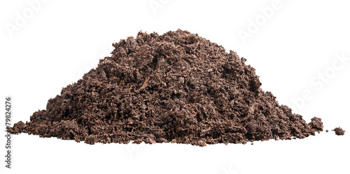canvas print picture Pile of soil