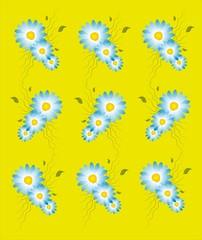желтое ромашковое настроение