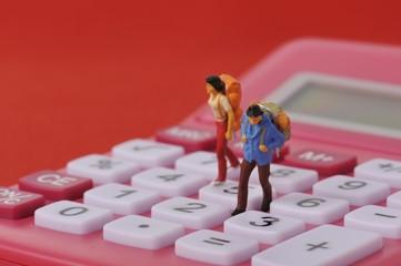電卓と冒険者