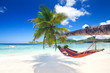 Leinwanddruck Bild - Seychellenurlaub