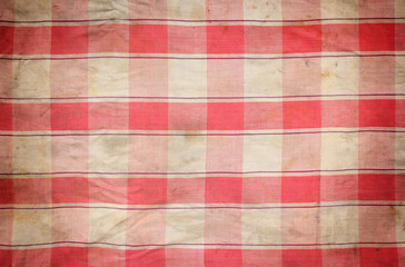old plaid seamless as background