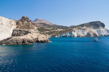 Kleftiko cliffs, Milos island, Cyclades, Greece