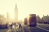 Westminster Bridge at sunset, London, UK - 79830018