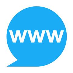Icono texto www