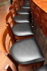 View of bar stools