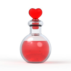 Love Potion Bottle 3D 8