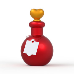Love Potion Bottle 3D 9