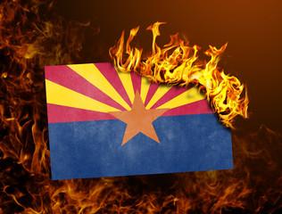 Flag burning - Arizona