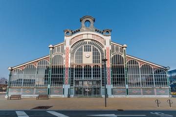 Halle du marché couvert ville de Belfort