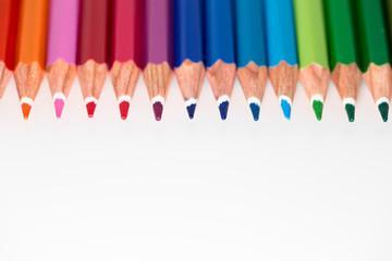 Buntstifte - weißer Hintergrund