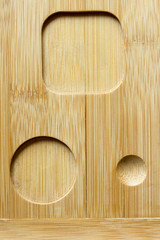 Specialized wooden surface