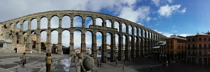 Panoramica aqueducto Segovia