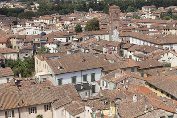 Quartiere storico di Lucca