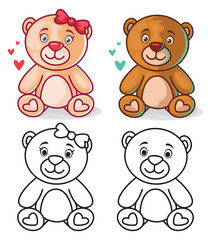 Teddy Bear Character for Boys and Girls