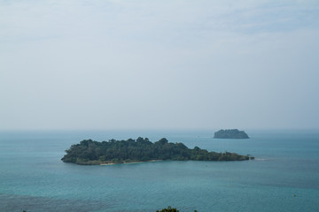 View point on Koh Chang Thailand