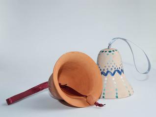 Ceramic handmade bells