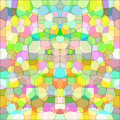 Colorful mosaic. Raster 7