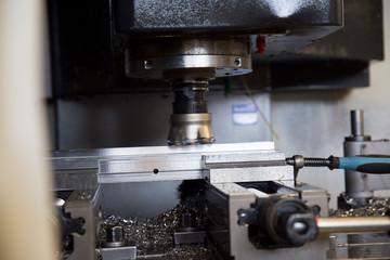 Werkstück in CNC-Fräse