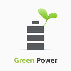 Green Power logo.