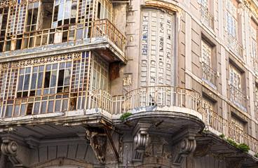 alte Häuser in der Innenstadt von Lissabon