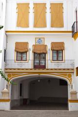 alley from Sevilla, Spain, part of La Maestranza bullring