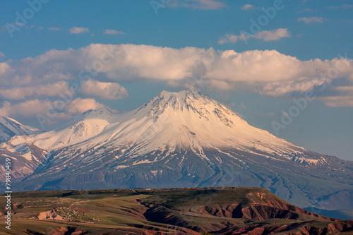 Keuken foto achterwand Heuvel large and small Ararat, Turkey