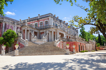 The Robillon wing of Queluz National Palace, Portugal