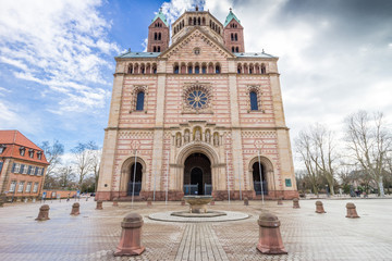Speyer Cathedral Main Entrance