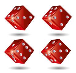 Red Casino Dices