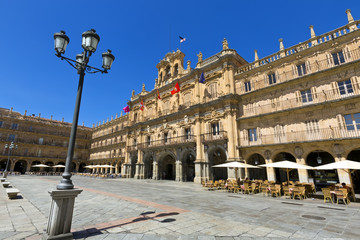 Plaza Mayor de Salamanca, Spain.