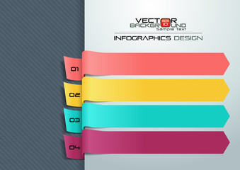 Modern Infographic Template Vector Illustration