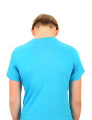 Teenager Back View