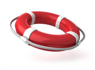 Roter Rettungsring