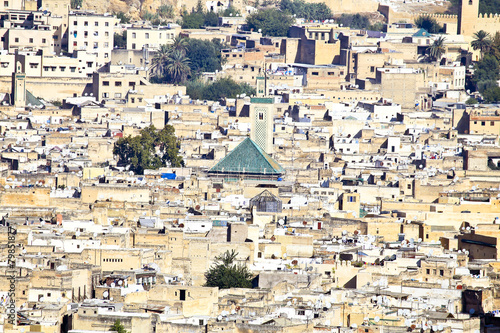 Papiers peints Maroc City scenic from the city Fes in Morocco Africa