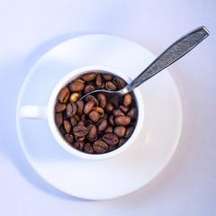 Caffè beans cup