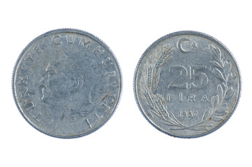 Turkey coin