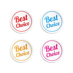 Best Choice Stickers