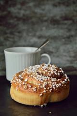 Have a coffee and cinnamon bun moment