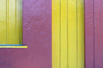 Fachada de casa de Porto Seguro