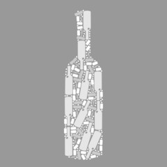 pattern bottle