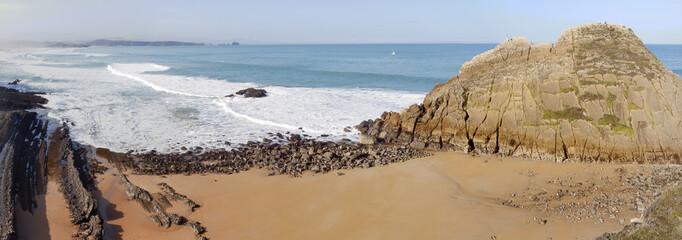 Costa de Cantabria. Panorama.