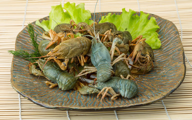 Raw Crayfish